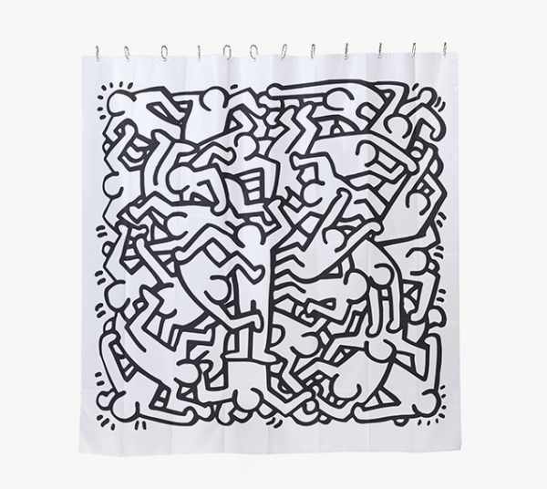 Keith haring shower curtain - Keith haring shower curtain ...