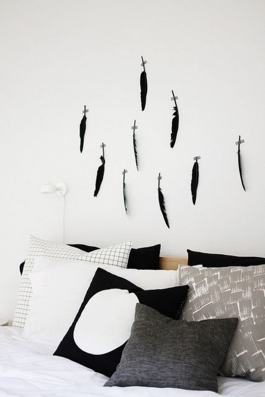 집 안의 작은 갤러리근사한 벽꾸미기 아이디어!