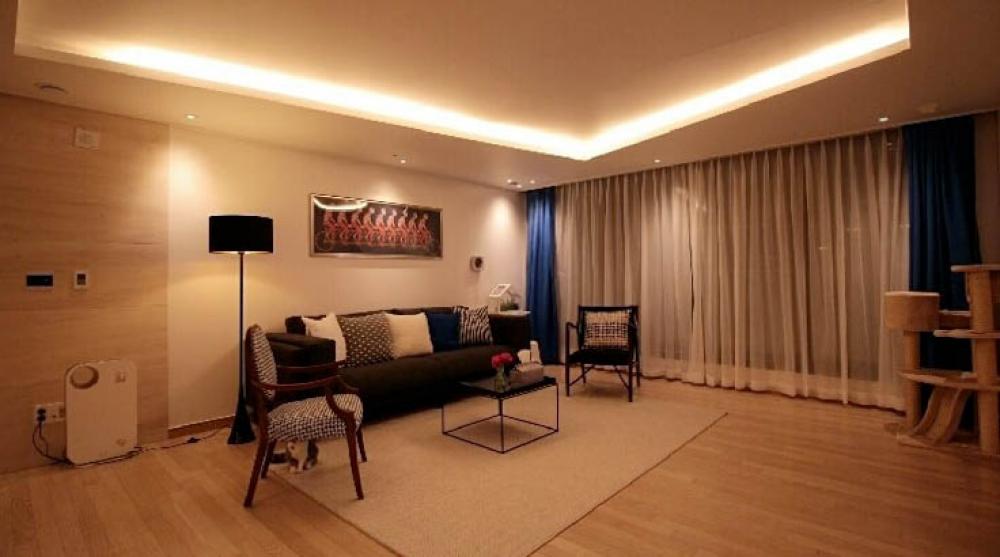 집주인의 센스와 감각으로 재미있는 공간 구성! 43평 아파트 홈 ...